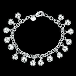 Jewelry - Silver plated with Bells bracelet/ankle bracelet